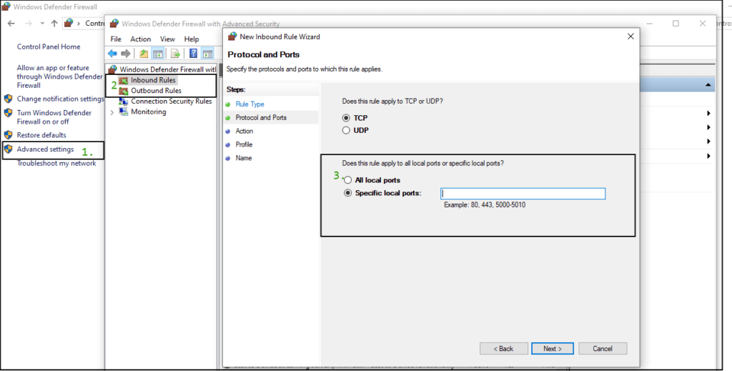 Configure-your-firewall-ports-settings-verson
